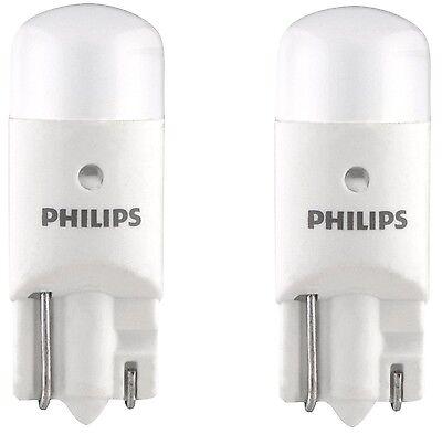 4x Philips 194 & 921 LED 6000K Super Bright Xenon White T10 T16