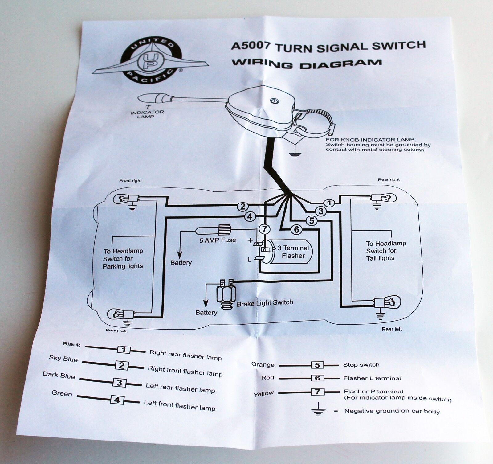 Turn Signal Wiring Diagram A5007r. . Wiring Diagram on