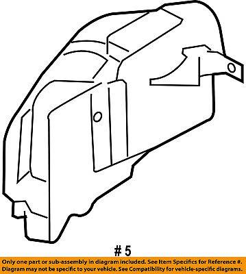 Genuine Ford Liner Extension 5R3Z-16103-AB