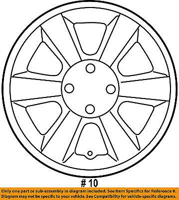 Kia Oem 08 11 Rio Wheels Wheel Cover 529601g500 For Sale