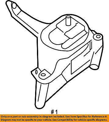 Nissan Oem 07 13 Altima Engine Motor Mount Torque Strut 11210ja000