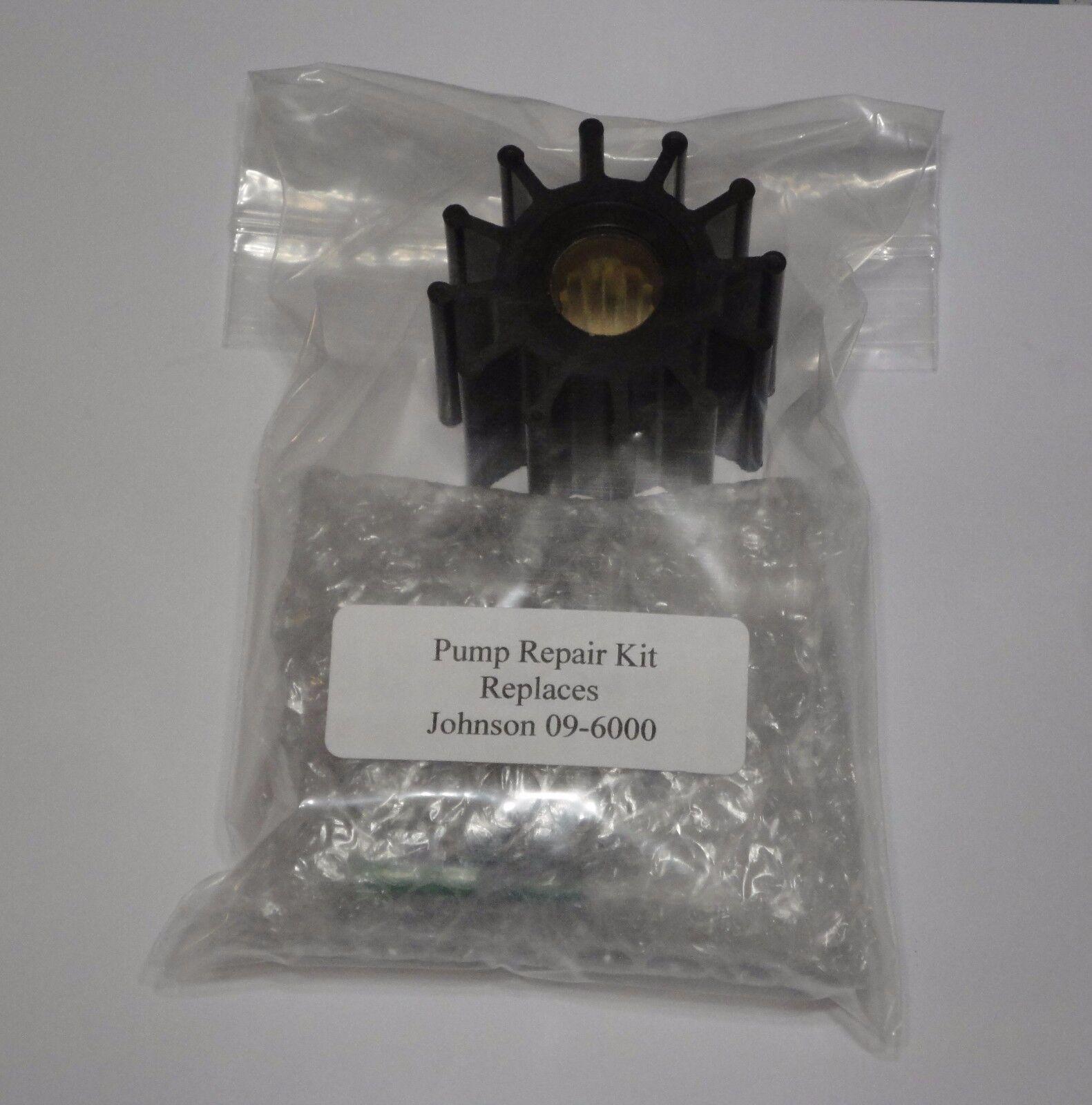 Volvo Penta Raw Water Sea Pump Stainless Steel Rebuild Kit SS 21212799 3812519