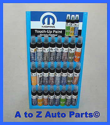 NEW Dodge,Chrysler,Jeep,Ram (PDS) ANVIL Touch Up Paint, OEM