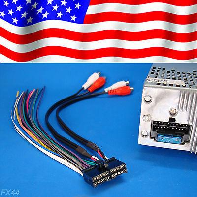 jensen 20-pin radio wire harness stereo power plug cd dvd player unit back  clip  $14 95