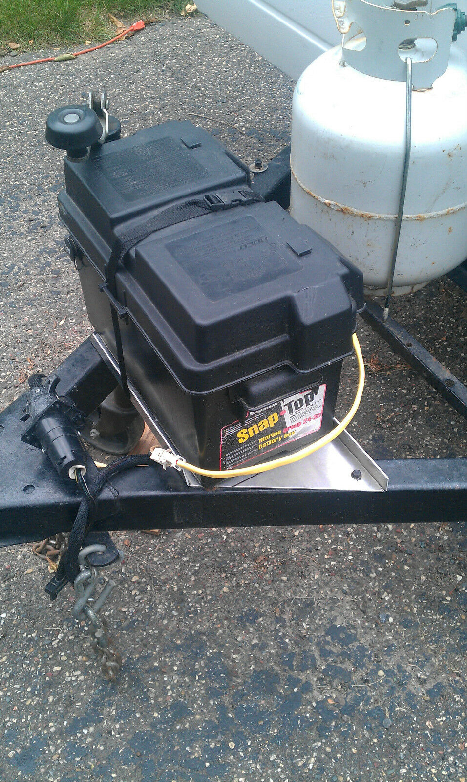 Coleman 15 amp popup camper battery harness 4749A5531 For Sale