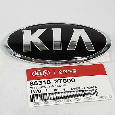Genuine 863182T000 Front Hood Emblem For KIA K5 2011-2015