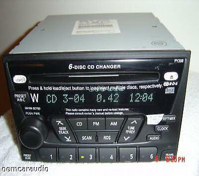 REPAIR ONLY For 01 02 03 NISSAN Xterra Frontier Radio 6 CD Disc Changer