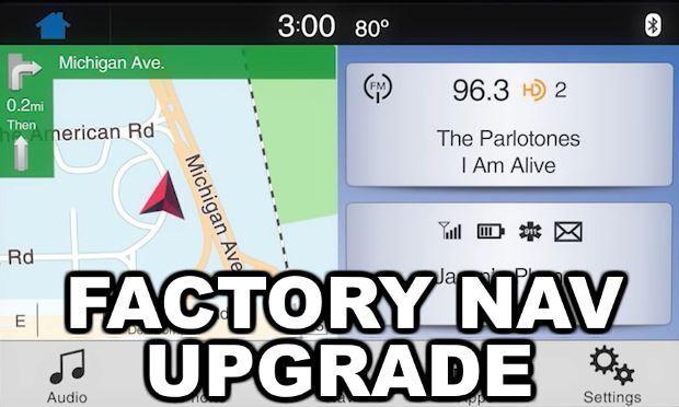 SYNC 3 Factory Navigation Upgrade Kit - Genuine Ford OEM GPS