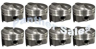 Chevy 7 4 454 Silvolite Hypereutectic Coated Skirt 30cc Dome Pistons