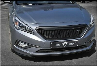Un Painted M S Sports Front Radiator Grille For 2017 2016 Hyundai Sonata