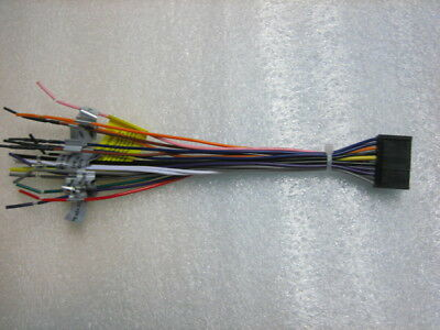 Dual Wire Harness XDVD236BT,XDVD1265BT,XD, XDVD1262, XDVD256BT ... Harness Dual Wiring Xdvd Bt on