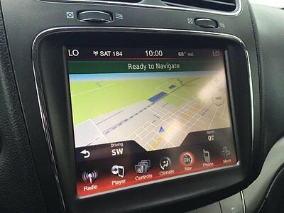 DODGE JOURNEY RB5 8 4N UCONNECT GPS NAVIGATION RADIO 2012