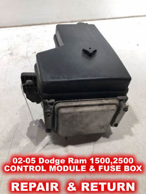02 05 Dodge Ram 1500 2500 3500 Front Control Module Fuse Box