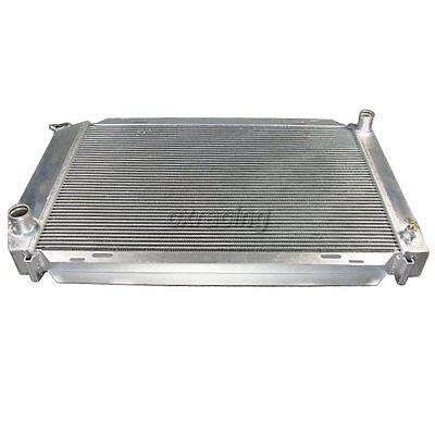 3 ROW RACING ALUMINUM COOLING RADIATOR FOR 79-93 FORD MUSTANG V8//V6 LX//GT//COBRA