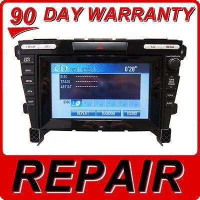 REPAIR FIX 07 08 09 10 11 12 Mazda CX-7 Radio Nav GPS 6 CD