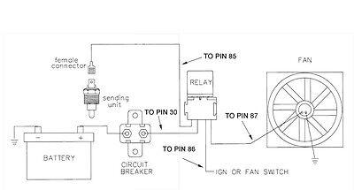 180 F Electric Radiator Fan Thermostat Sensor Switch 3 8