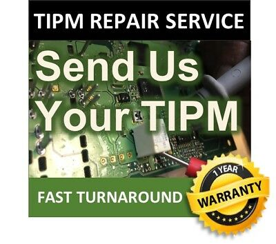 2011 dodge ram 1500 tipm / fuse box and relay box repair service 04692319