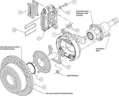 Currie 82 92 Gm F Body Rear End Wilwood Disc Brakeslinese Brake