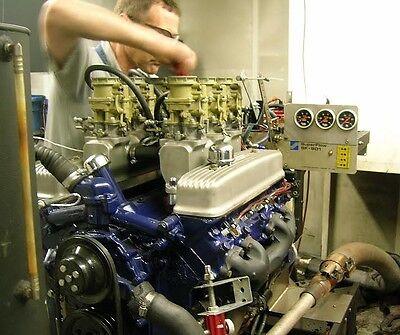 Fits 264 322 Buick Nailhead Aluminum Custom Riser Intake