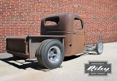 Bobber Hot Rod Truck Frame Rat Rod No Fenders 1935 46