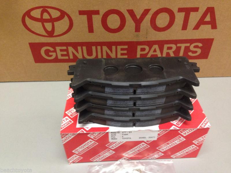 Toyota Camry 2007 2017 Front Ceramic Brake Pads Genuine Oem 04465 Az116 For