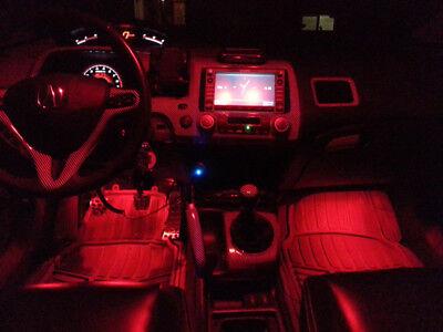 Red Led Interior Lights Package Kit For 2009 2017 Dodge Ram 1500 2500 3500 Pz