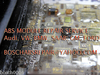 Audi ABS module repair service for 02 03 04 05 A4 A6 A8 S4