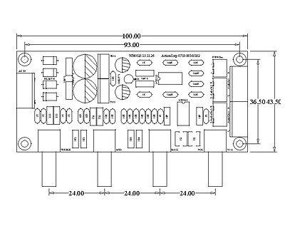 NE5532 Preamp Pre-amplifier Tone Board Treble Alto Bass Volume