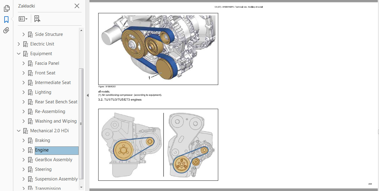 Official Workshop Service Repair Manual For Citroen C5 2007 2015 2 0 Hdi Engine Diagram Sale