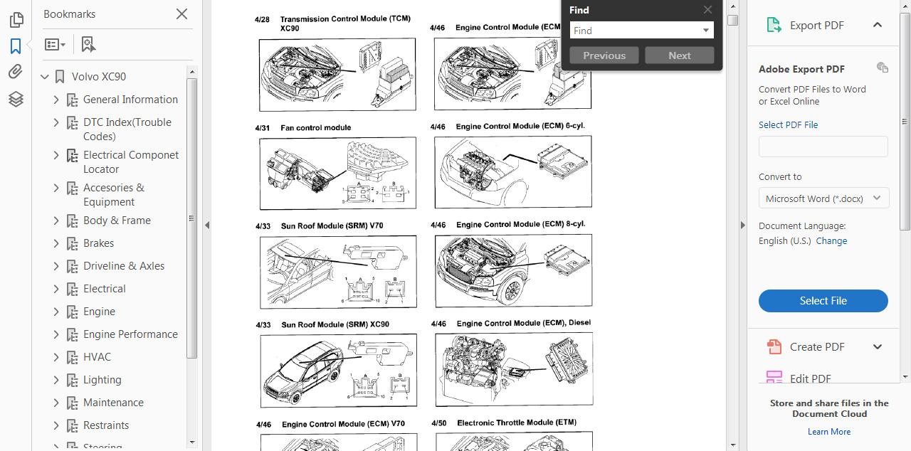 Manual Xc90 Pdf Tecumseh Linkage Diagram Engine Parts List 1 Diagrams Andor Array Workshop Service U0026 Repair Guide For Volvo 2002 2014 Rh Restomods Com
