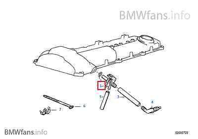 325i m50 M3 E34 520i 525ix  PCV Valve 11151703710 New BMW E36 320i