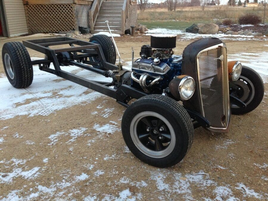 HOT ROD TRUCK FRAME PLANS BOBBER TRADITIONAL & RAT ROD 2 SETS PICKUP ...