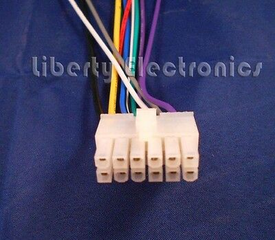 wire harness for dual xdm6351 cd receiver  $12 76