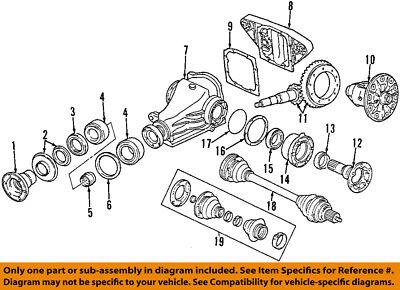 Terrific Bmw Oem 03 08 760Li Rear Axle Differential Pumpkin Cover 33111428929 Wiring Digital Resources Caliashwinbiharinl