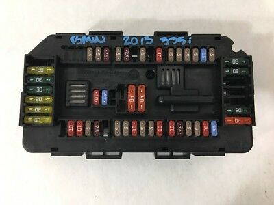 oem 2012-2016 bmw 335i 328i f30 f31 sam fuse box module control computer  body  $40 00