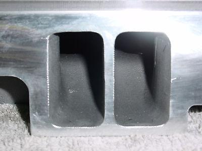 Chevy 350 383 400 Aluminum Cylinder Heads straight plug 327
