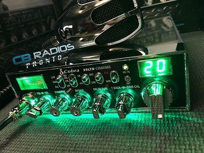 Cobra 29 Chrome - Green Light NITRO Edition - PERFORMANCE