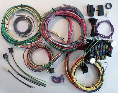 Miraculous Ez Wiring Harness All Black Chevy Mopar Ford Hotrods Universal Xlong Wiring Database Wedabyuccorg