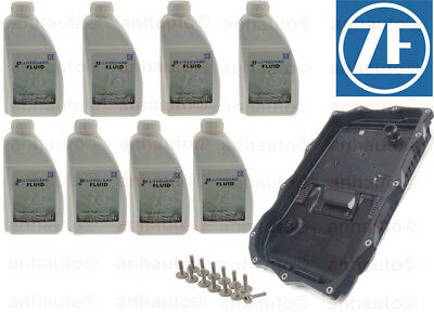 8-Liters ZF Lifeguard 8 with ZF Oil Pan & Filter Kit