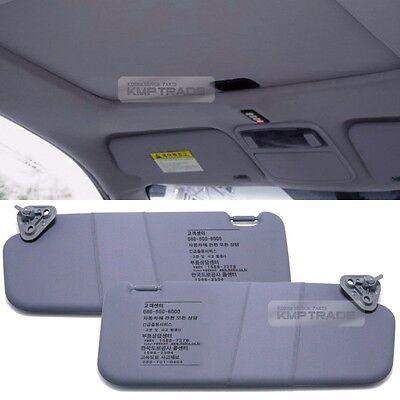 OEM Interior Hand Sun Visor Shade LH RH Gray for HYUNDAI 2002 - 2006 Elantra  XD 100c027b2e5