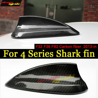For BMW 4 Series F32 F36 F82 M4 Real Carbon fiber Shark Fin