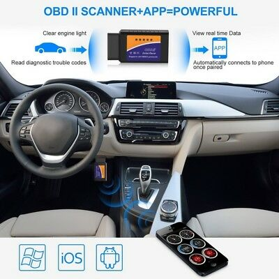 ELM327 WiFi Bluetooth OBD2 Car Diagnostic Scanner Code