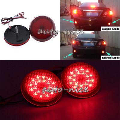 LED Rear Bumper Light Brake Reflector For Mitsubishi ASX