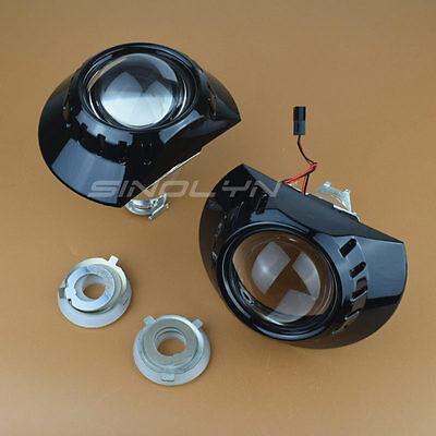For ZKW E46 M3 Headlight Mini 2 5'' MH1 Black HID Bi-xenon