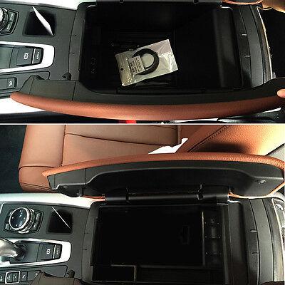 1pcs accessories auto interior armrest storage box for bmw x5 f15 2014 2017 for sale. Black Bedroom Furniture Sets. Home Design Ideas