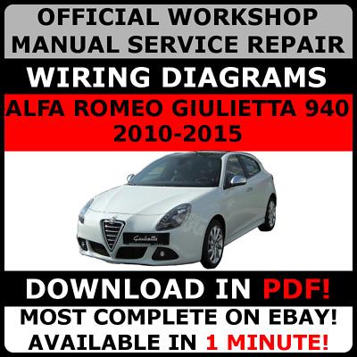 alfa romeo giulia service manual pdf