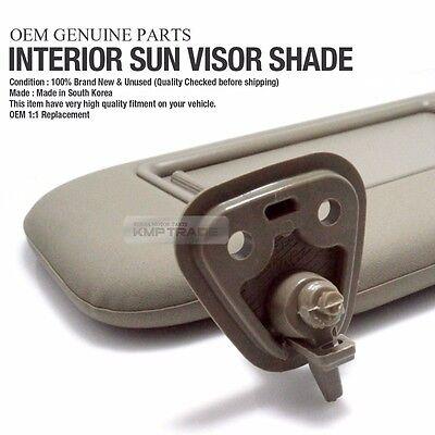 OEM Interior Hand Sun Visor Shade LH Beige for HYUNDAI 2007 - 2010 Elantra  HD 128b28aa6c9