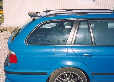 ece3954ec916 BMW E39 Touring Estate Wagon Rear Boot Lid Trunk Spoiler Ducktail Wing  Cover.  143.65