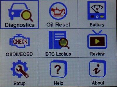 Diagnostic Scanner Tool Reader Code ENGINE ABS SRS AIRBAG