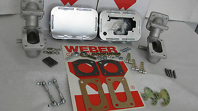 TRIUMPH TR6 WEBER CONVERSION ~ TWIN WEBER 32/36 DGV GENUINE